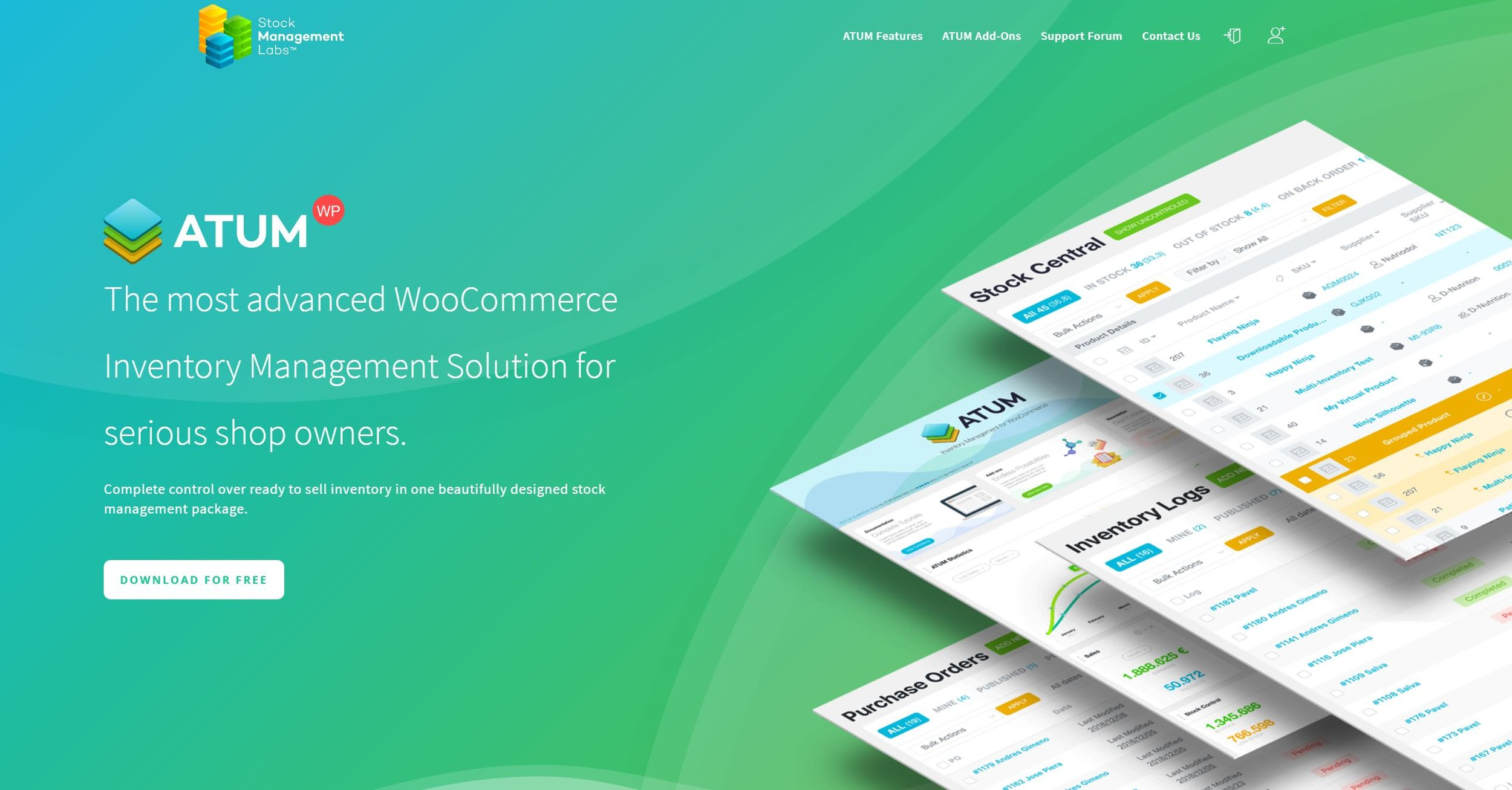 WooCommerce stock management is a breeze once you install the correct tool.
