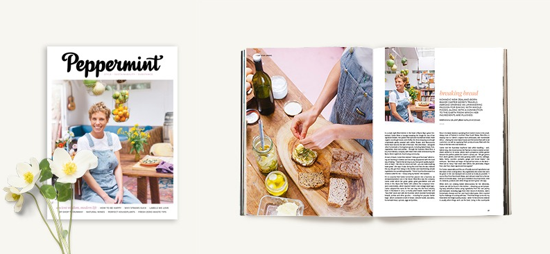 Peppermint Magazine cover story: Breaking Bread
