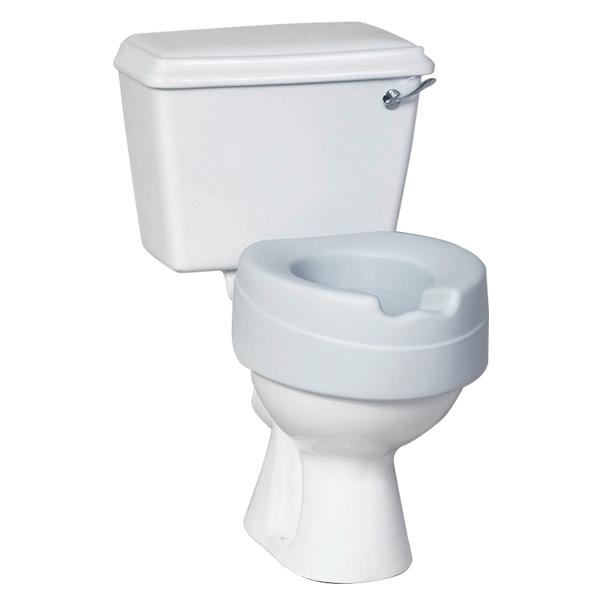Elevadores WC - REGULABLE EN ALTURAElevadores de inodoro para que resulte cómodo levantarse.
