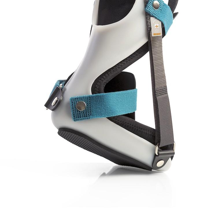 Férulas nocturnas - Funciona como férula posicional progresiva para prevenir los pies equinos.Está indicada para incrementar o mantener el rango de dorsiflexión y controlar el tobillo durante la noche.