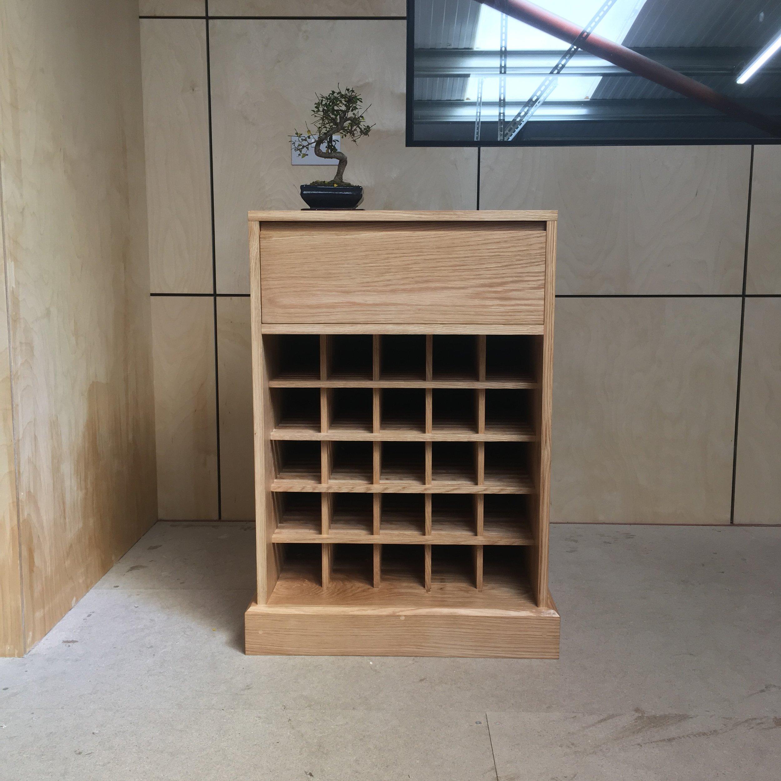 Takumi Woodwork - Oak Wine Rack