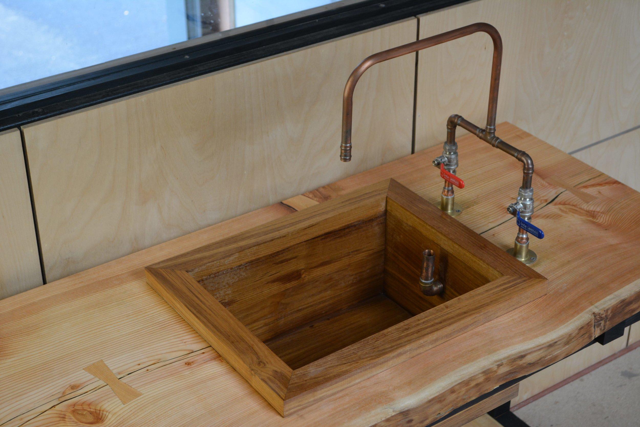 Takumi Woodwork - Teak Sink