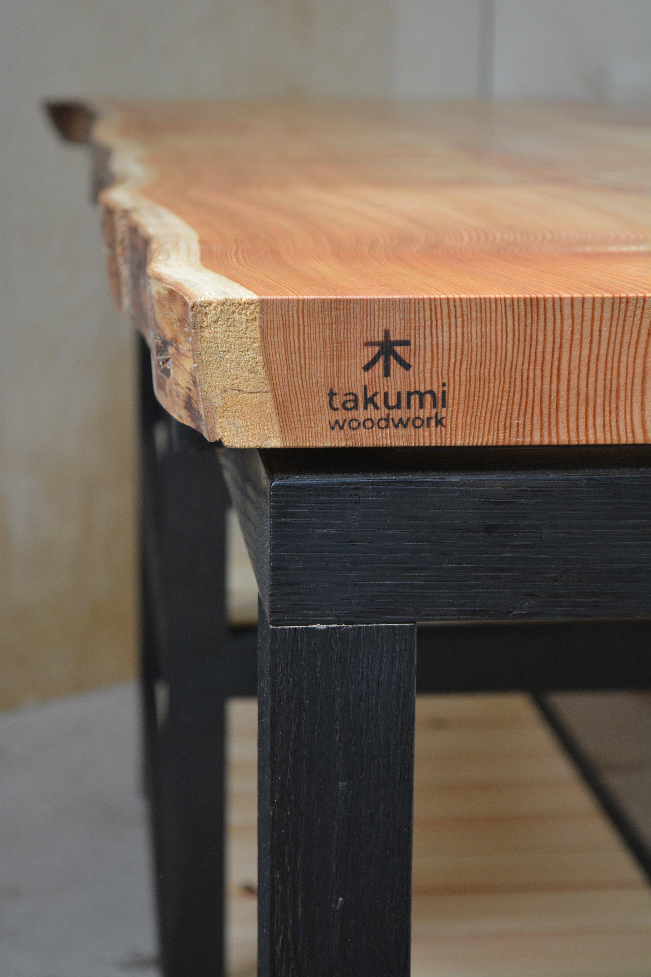 Takumi Woodwork - Larch Kitchen Unit
