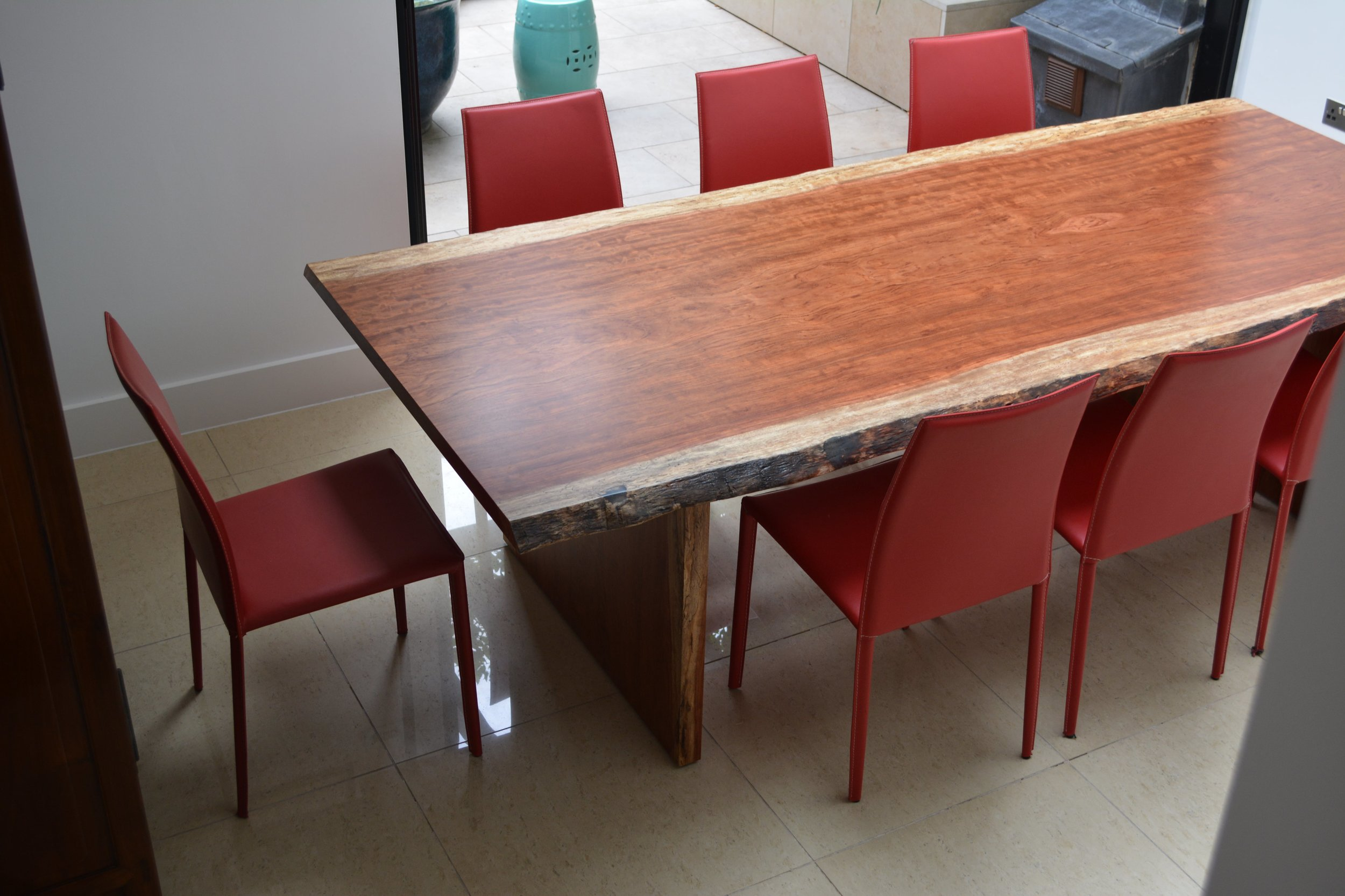 Takumi Woodwork - Bubinga Dining Table