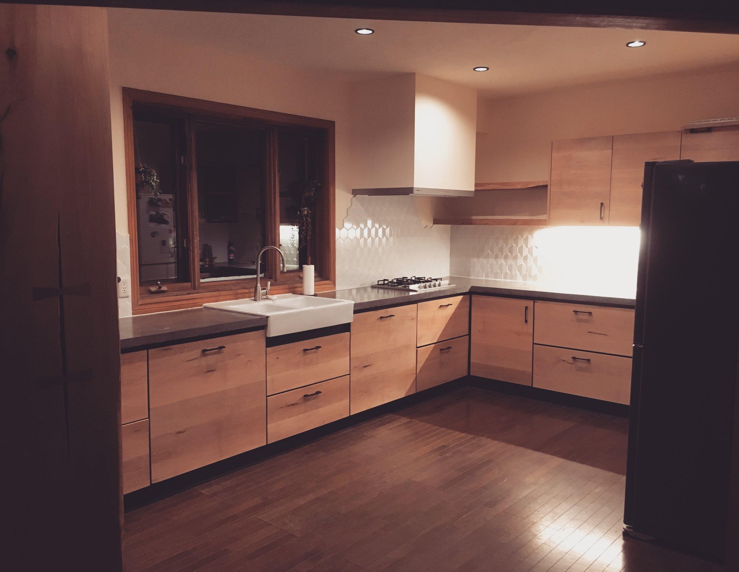 Takumi Woodwork - Niseko Kitchen