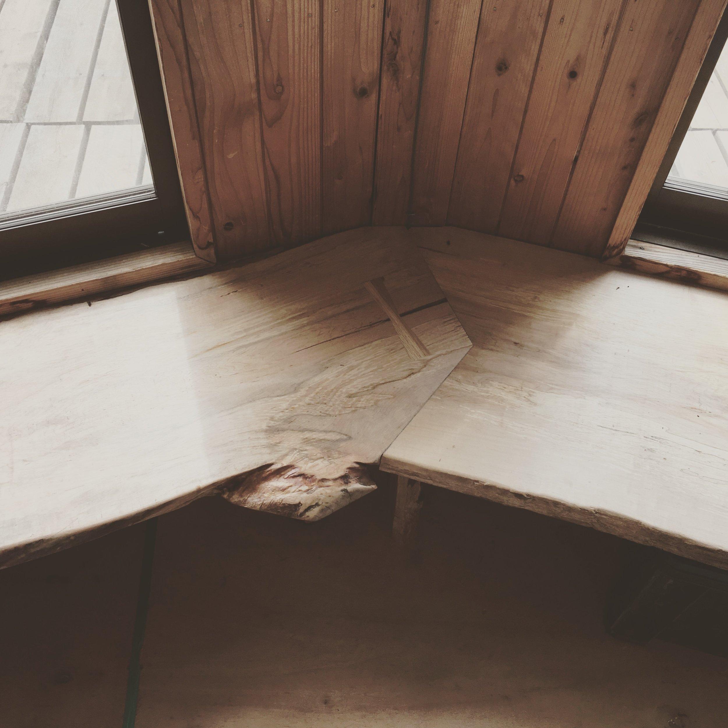 Takumi Woodwork - Oak Window Seat