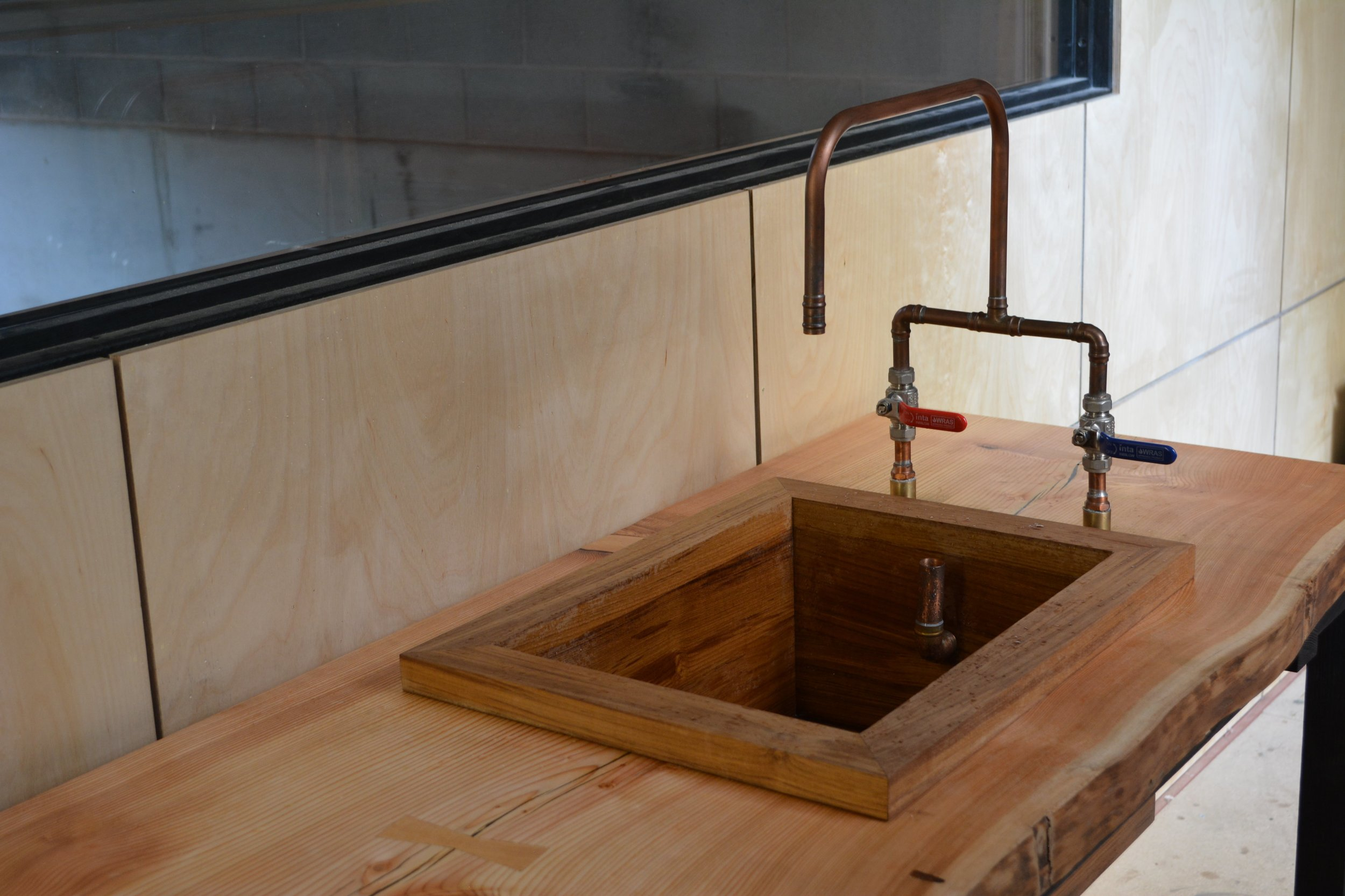 Takumi Woodwork - Teak Sink
