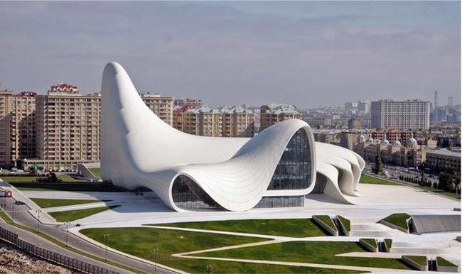 Heydar Aliyev Center baku, azerbaijan