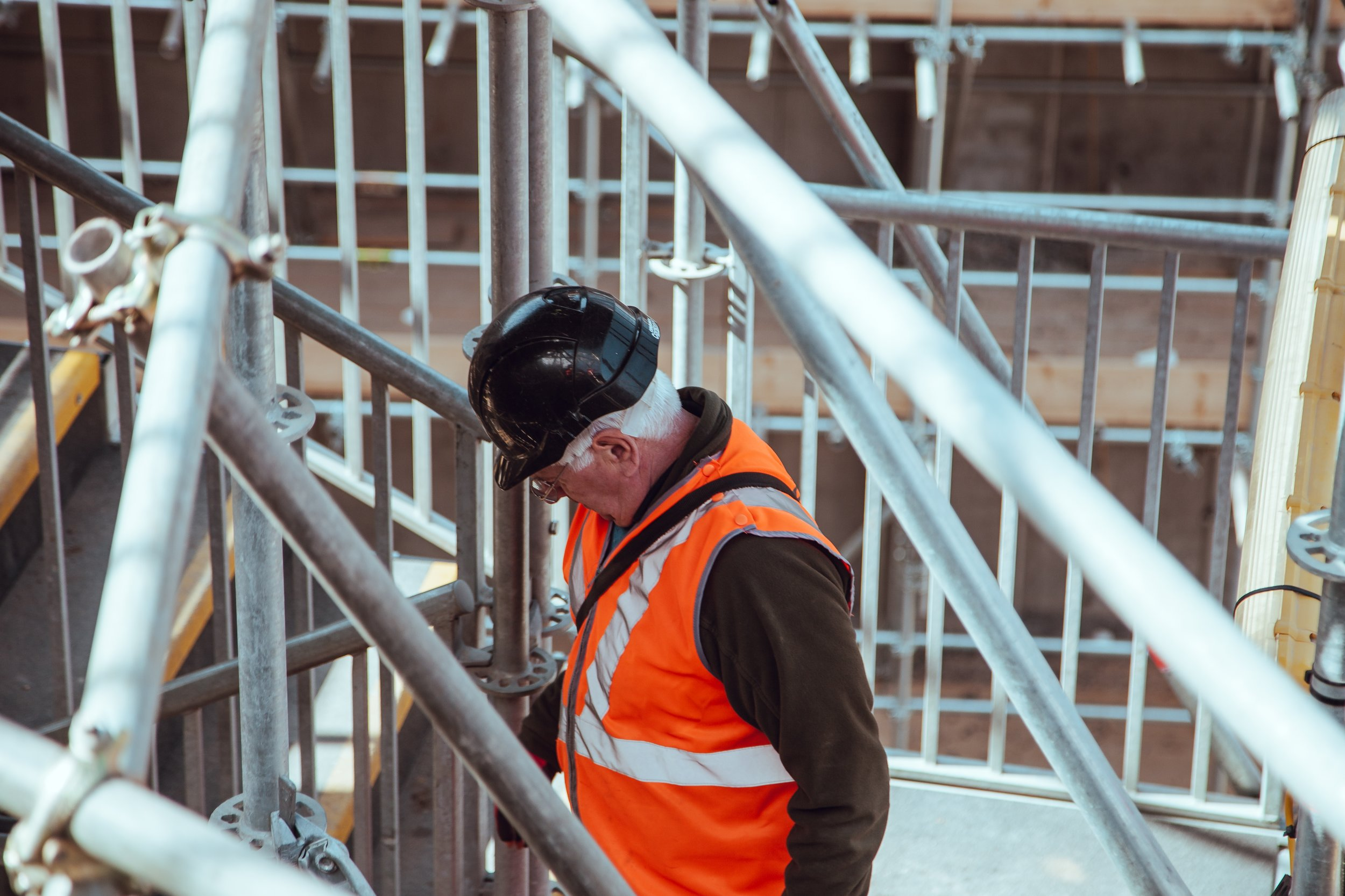 scaffolding can be a huge cost, don't forget to factor this into your budget!