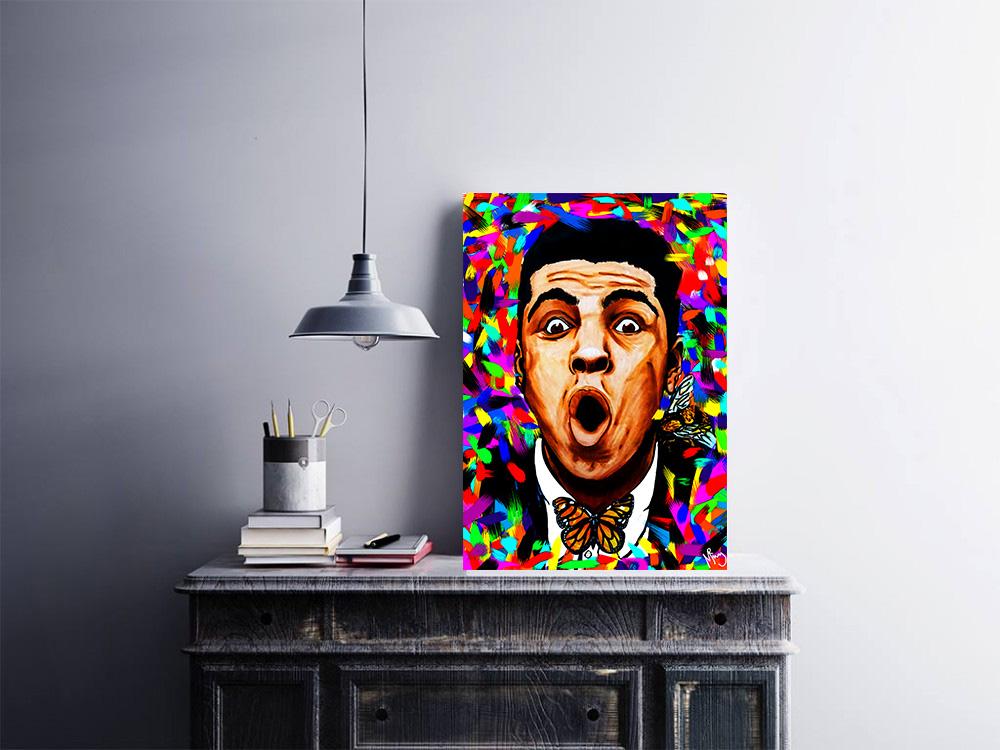 Ali artwork by mister mistry buy  here