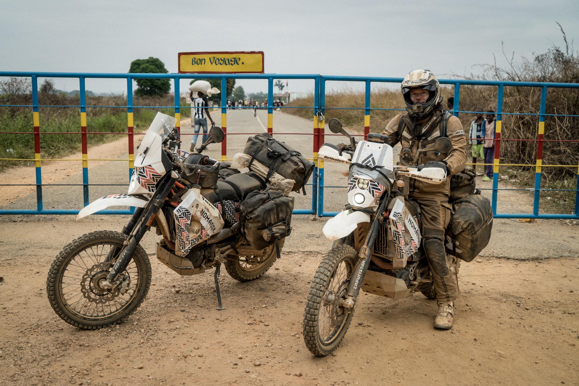 The DRC Angola Border
