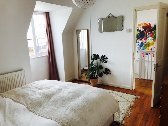 How to create a calming bedroom with the KonMari method.