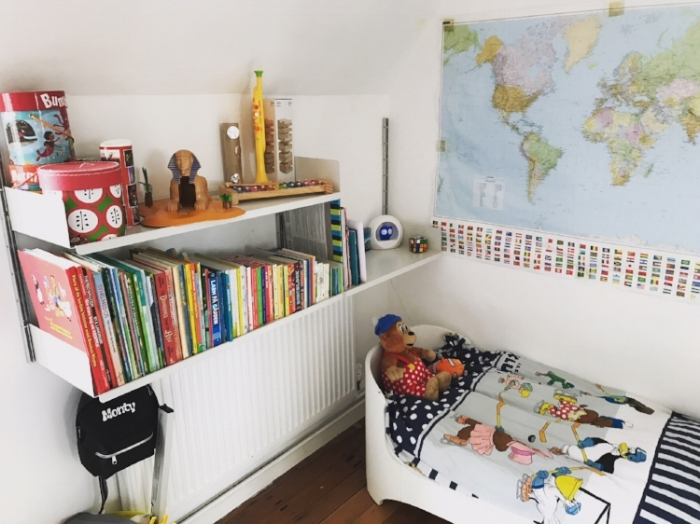 How to organise a child's bedroom with the KonMari method.