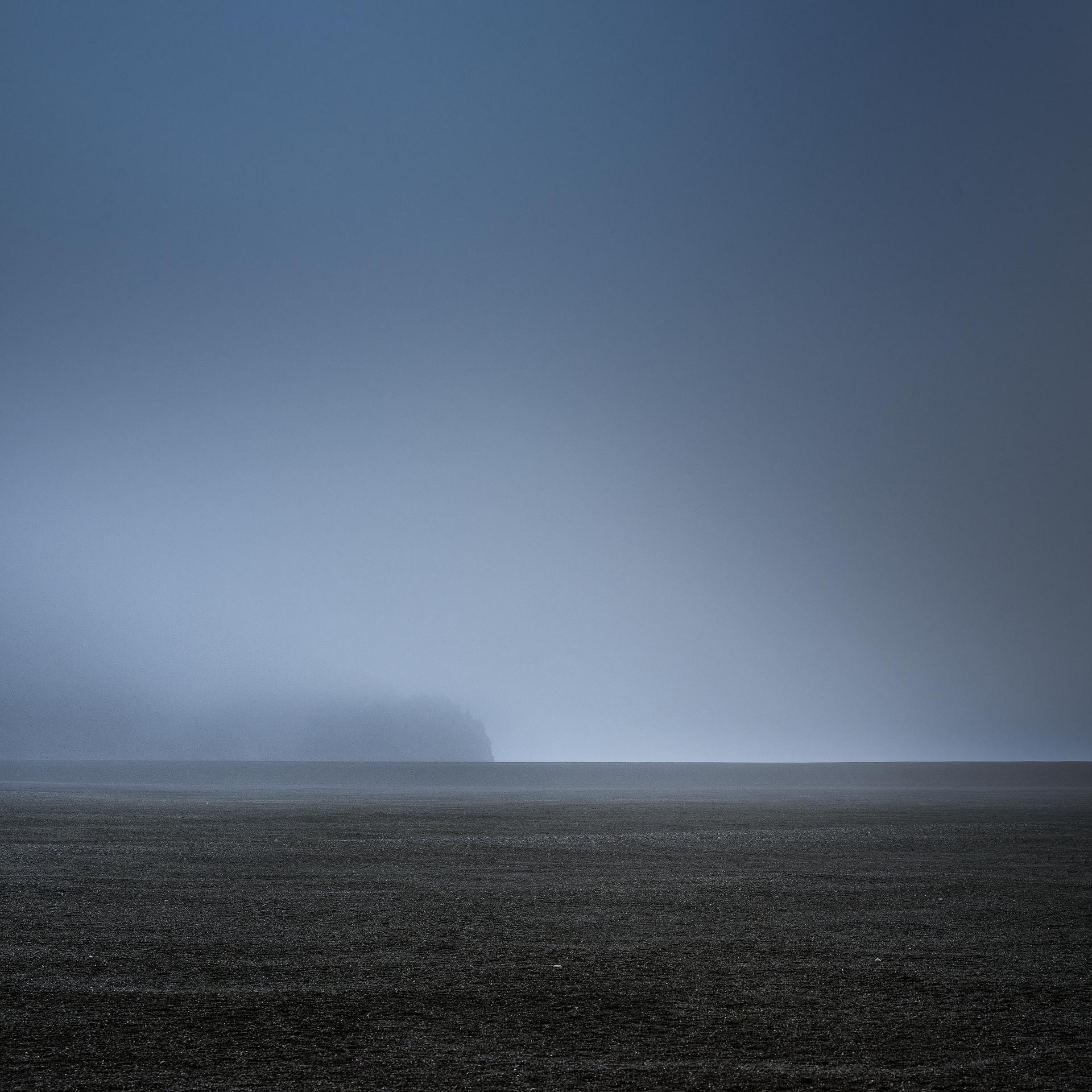 Black beach - Lago Grey, Torres del Paine, Patagonia