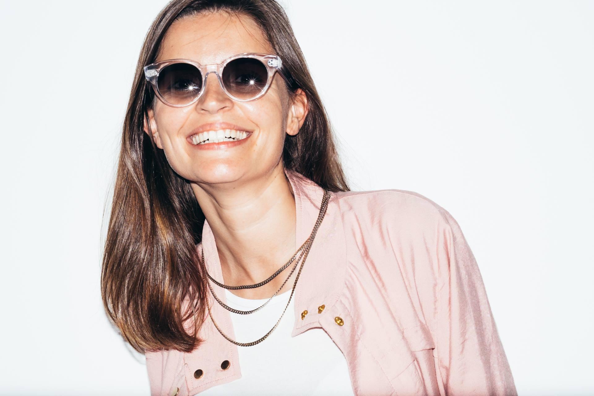 Filipa Galula Rhea Clear sunglasses