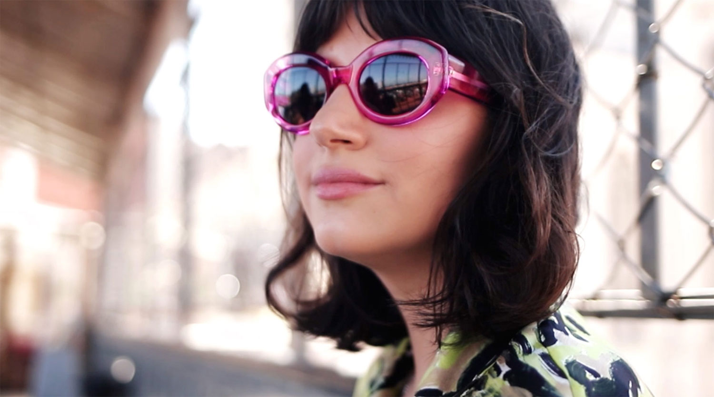 darkside eyewear ophelia hot pink mafalda nunes