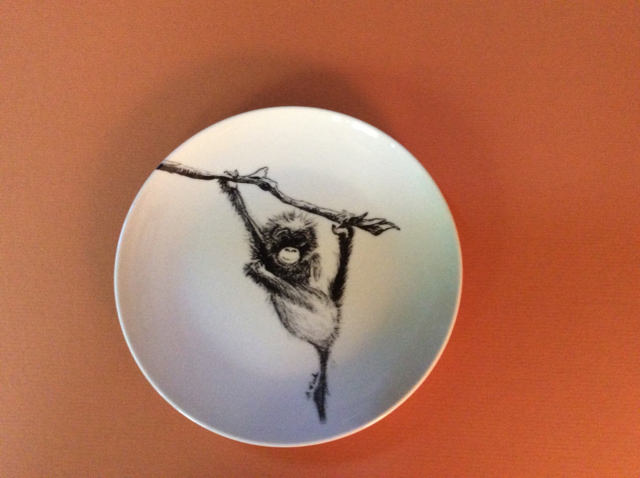 Hanging Monkey Plate