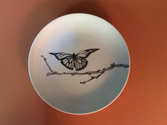 Butterfly Landing Plate