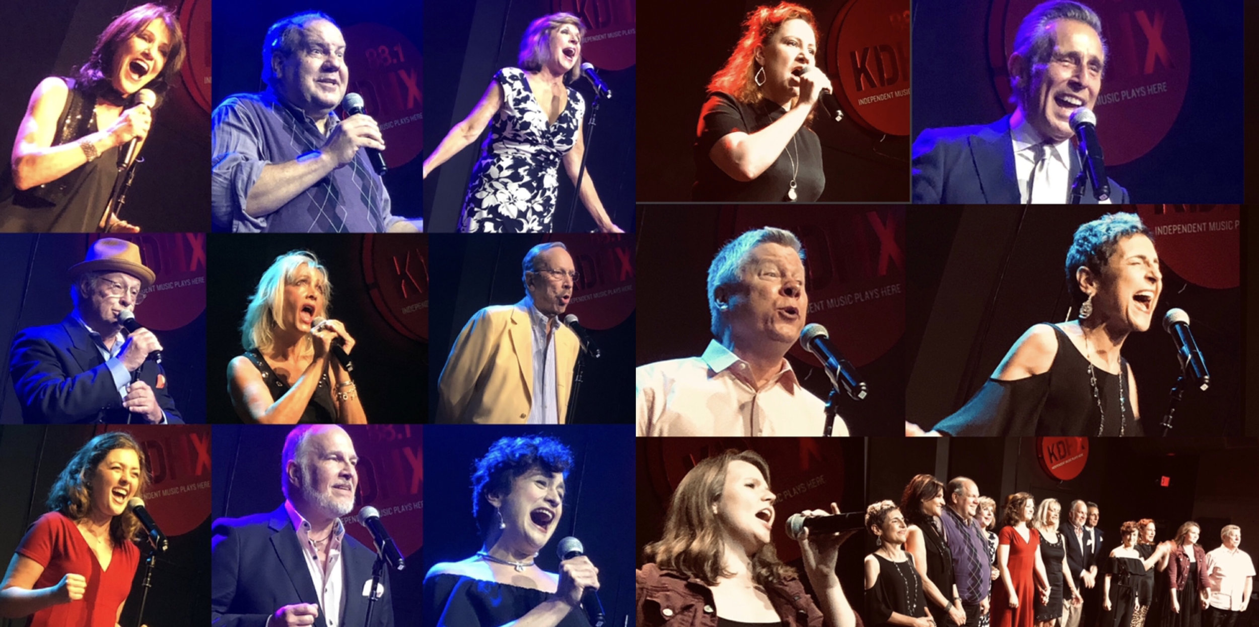 2019 St. Louis Cabaret Conference singers