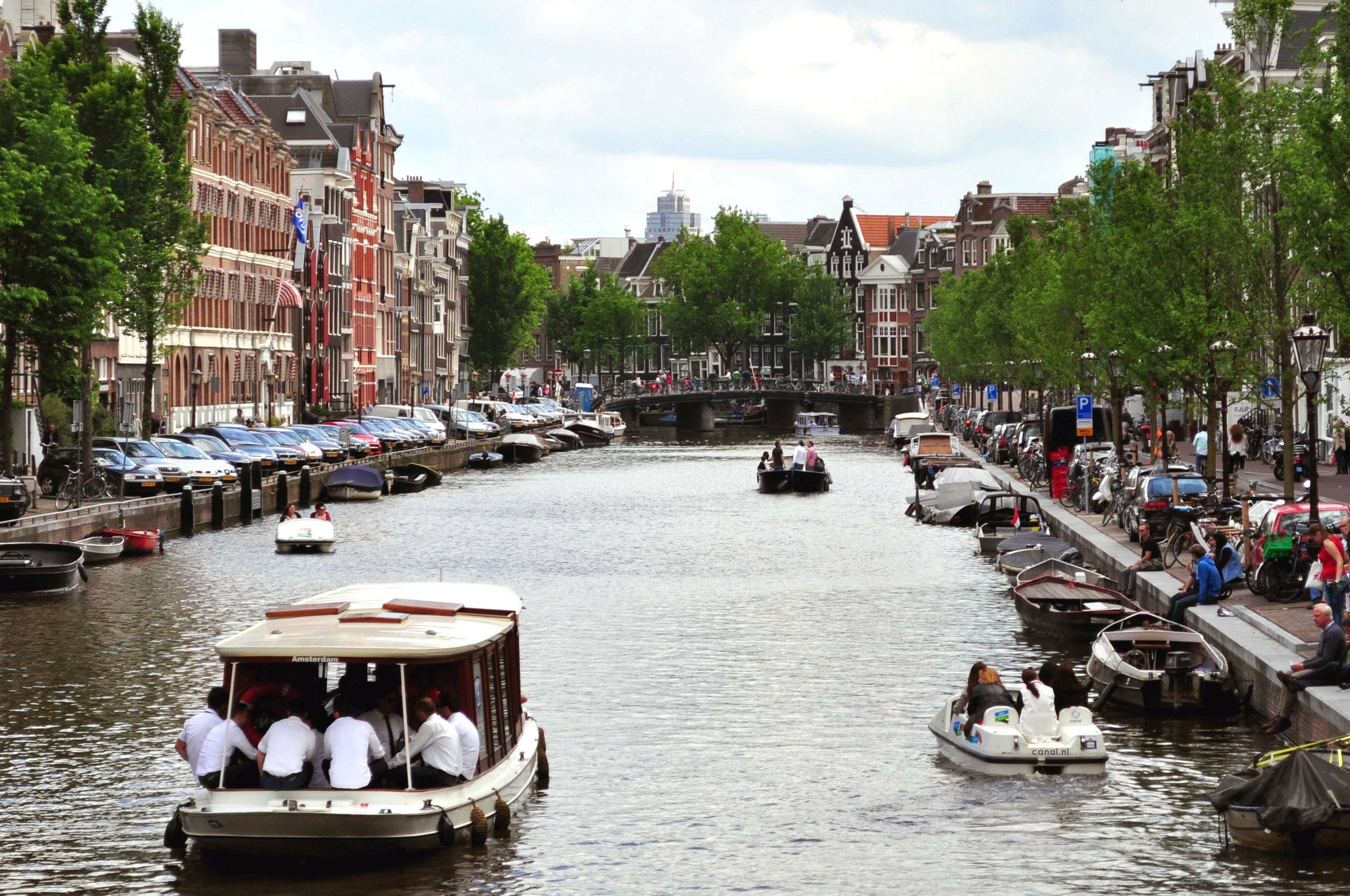 canales Amsterdam Viajar Inspira
