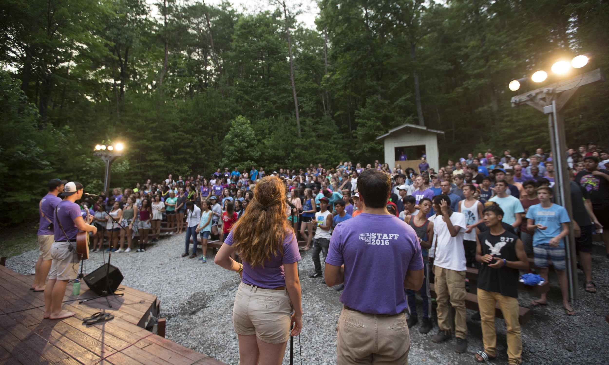 Camp Council & Campfire Bowl