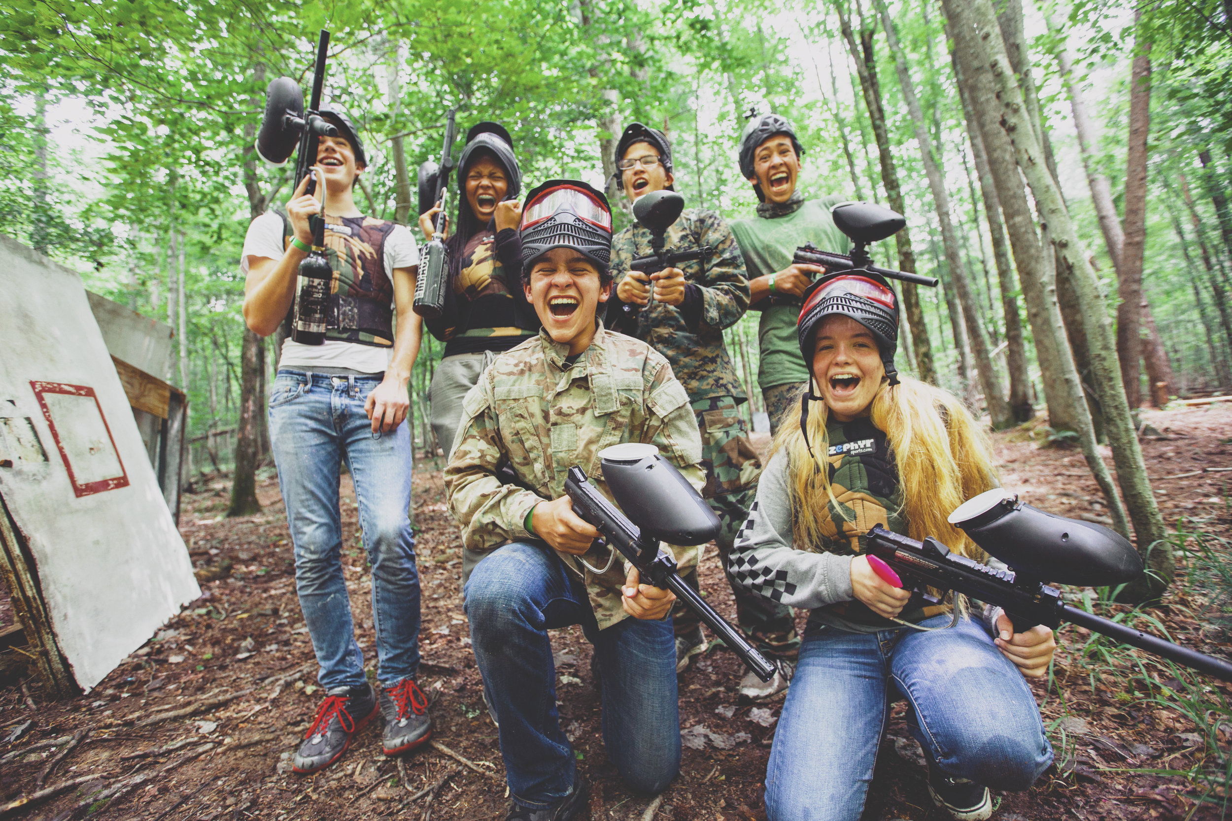 Paintball - *Additional cost for supplies