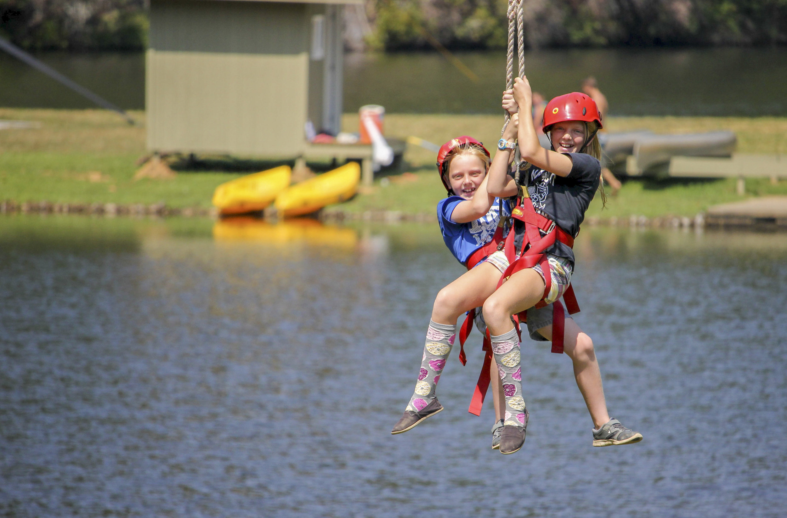 Stay & Play - For ages 7 to adult.  Offered every Sunday from 3:00 - 5:00 p.m. during the summer camp season (Junior I - Teen II).  Tickets can be purchased at the camp store.All proceeds go to the CSYC Campership Fund