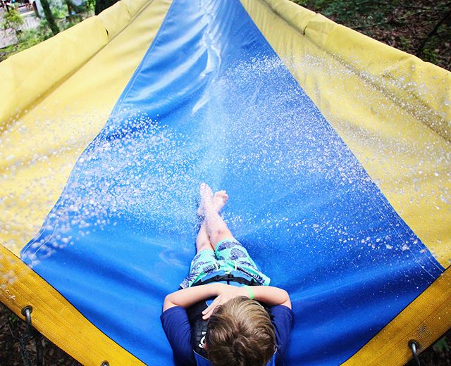 Slide into a great summer here at Cohutta Springs!