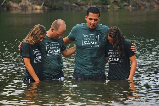 So blessed to have had two beautiful baptisms today!