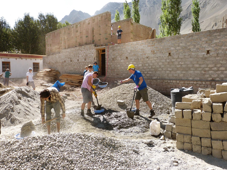 Lamdon Jamyang School, Residential Accommodation, Khaltse, Ladakh -