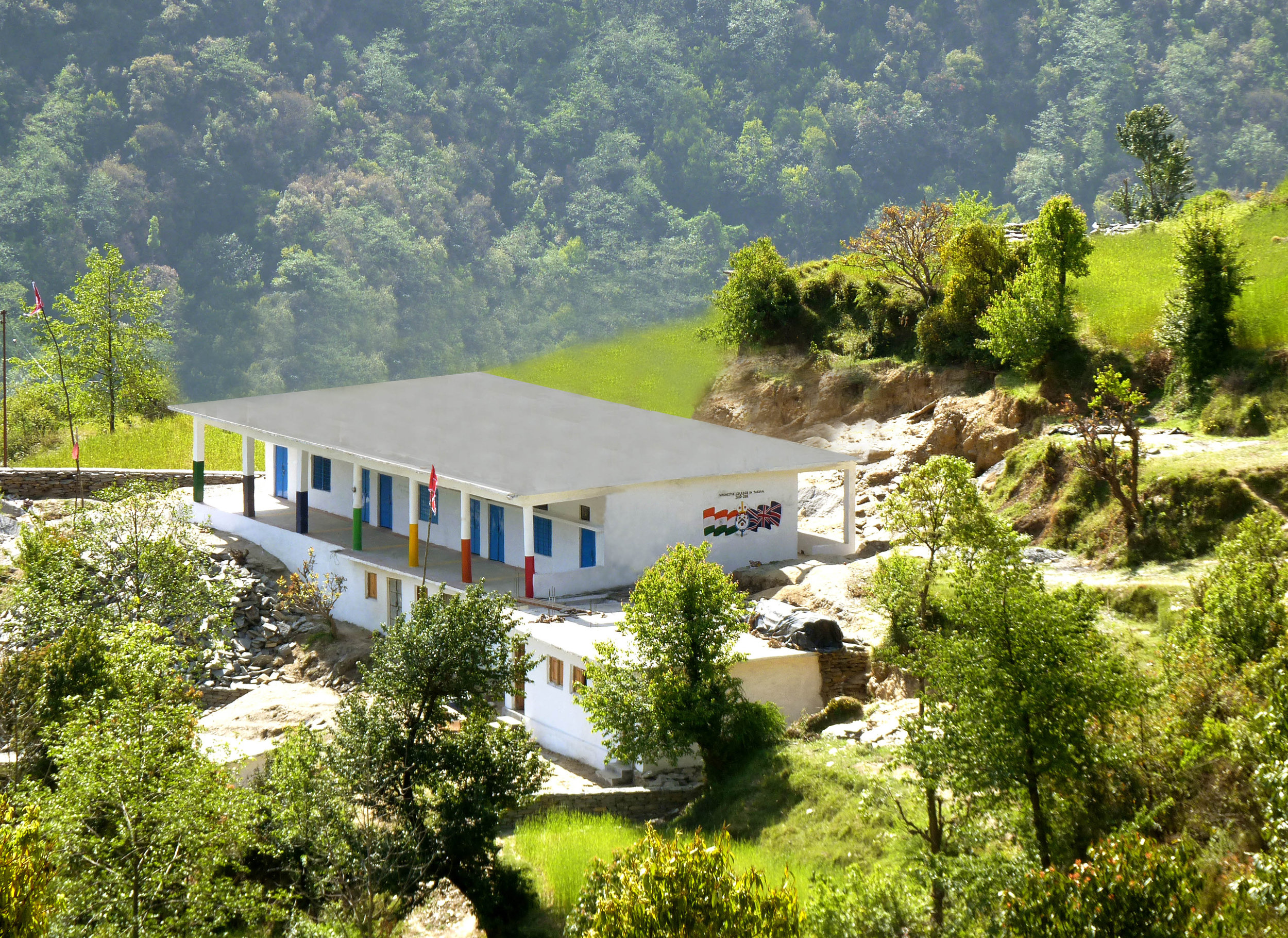 Tarsaal Primary School, Uttrakhand - Funded by Winchester College, UK