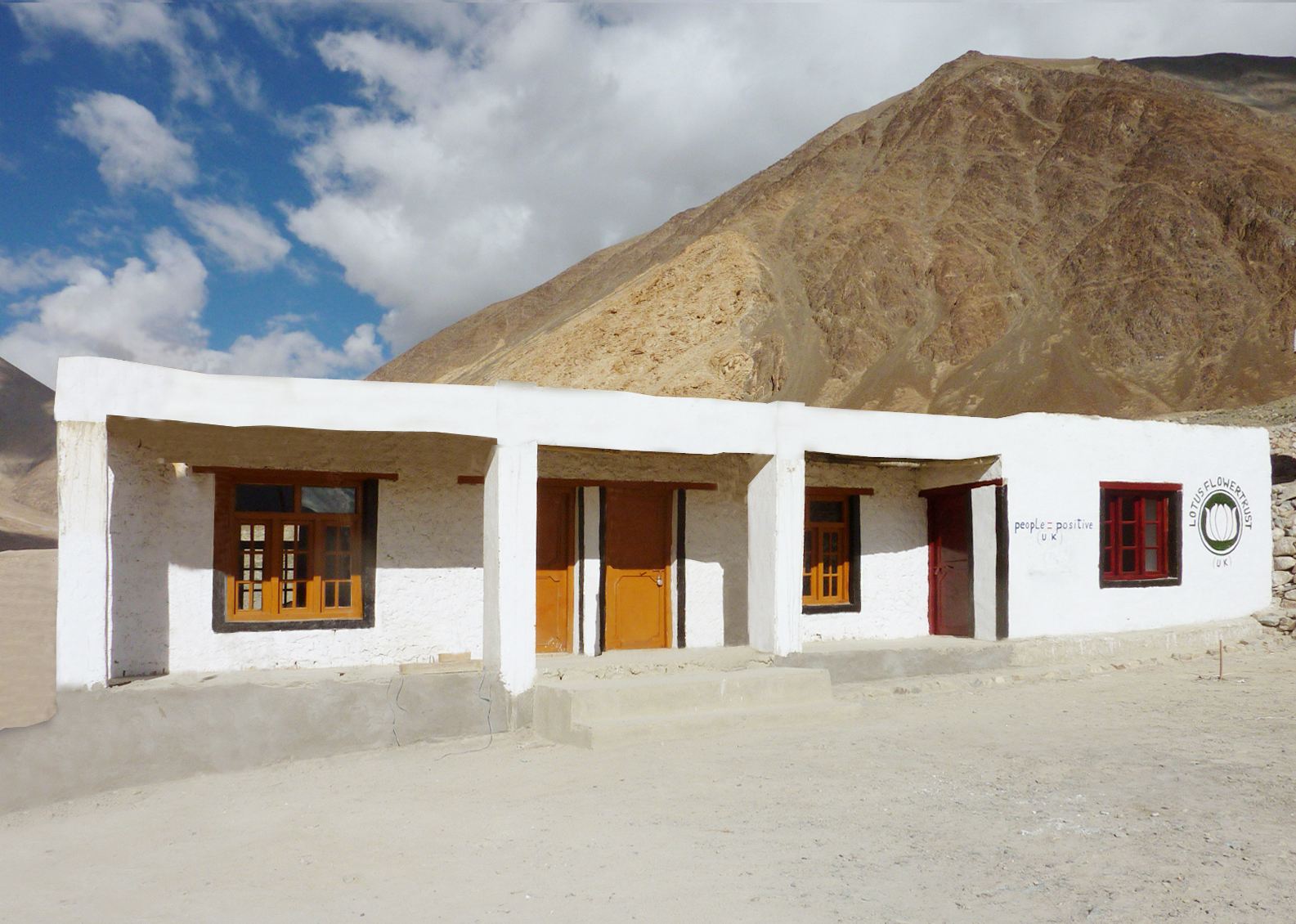 Upper Tharuk Primary School, Ladakh - Funded by Rod Pashley, Family and Friends