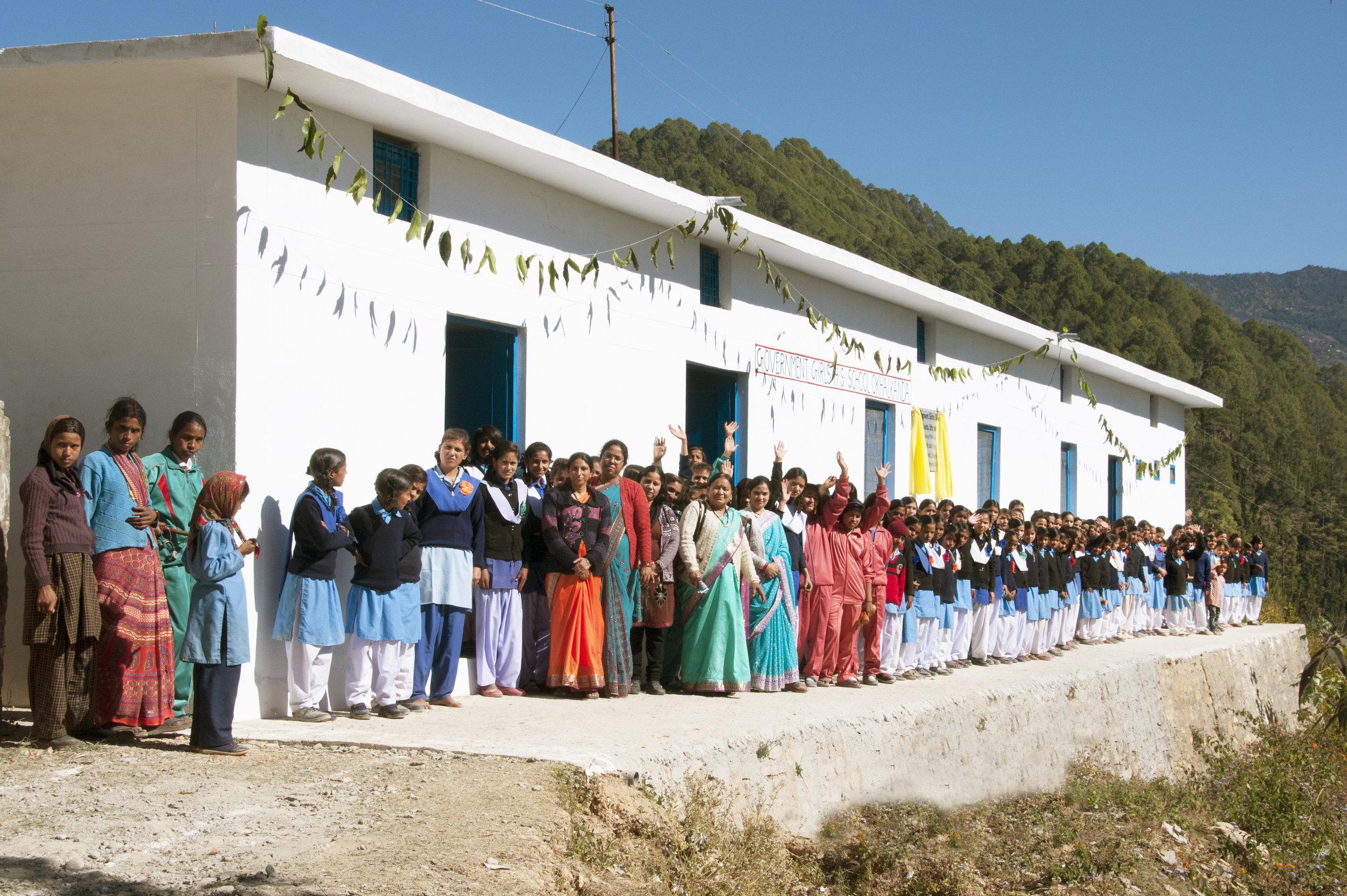 Okhalkanda Girls' Home, Uttrakhand - Funded by TFWA Care