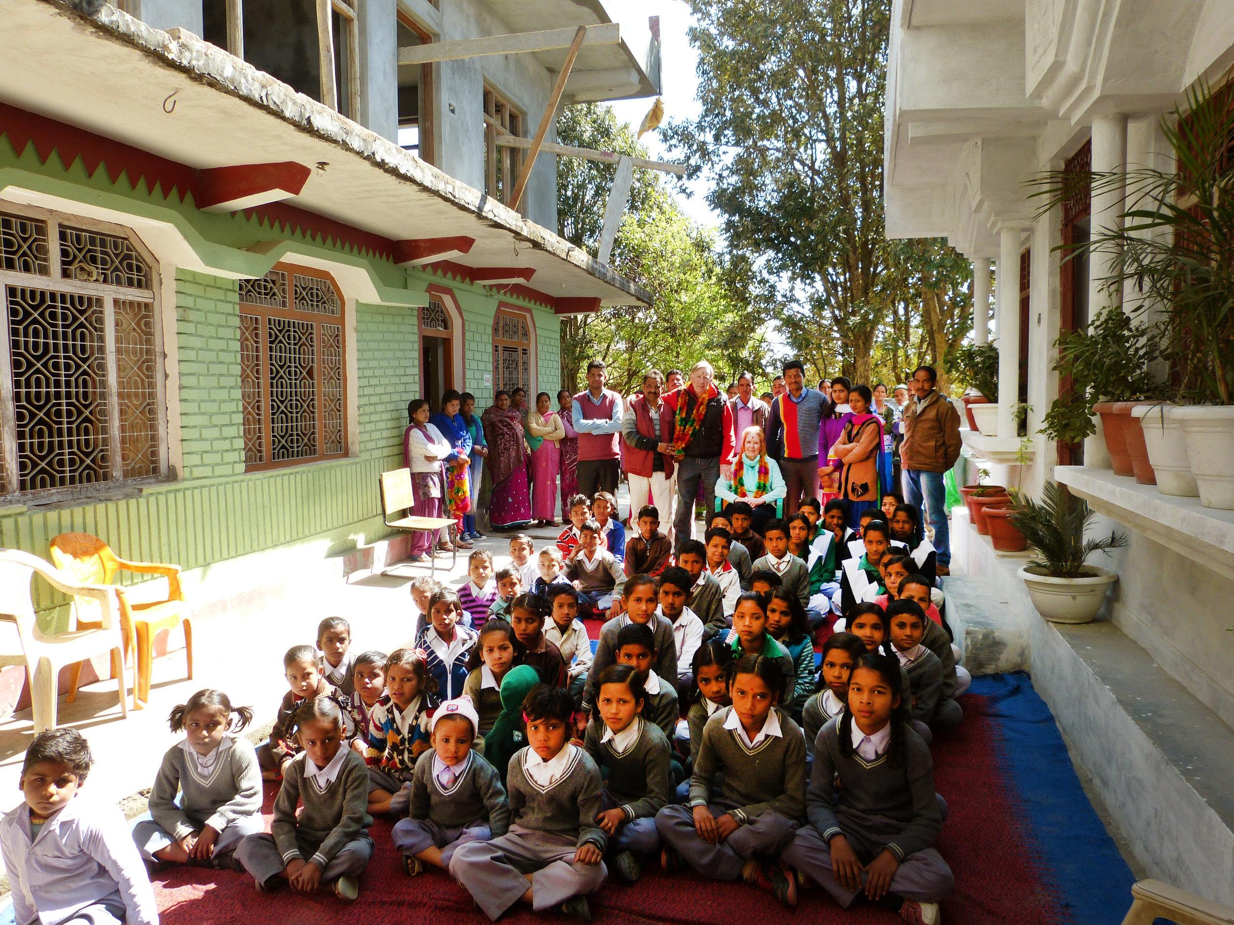 Ambedkar Ardarsh Junior High School, Berinaag - Funded by TFWA Care