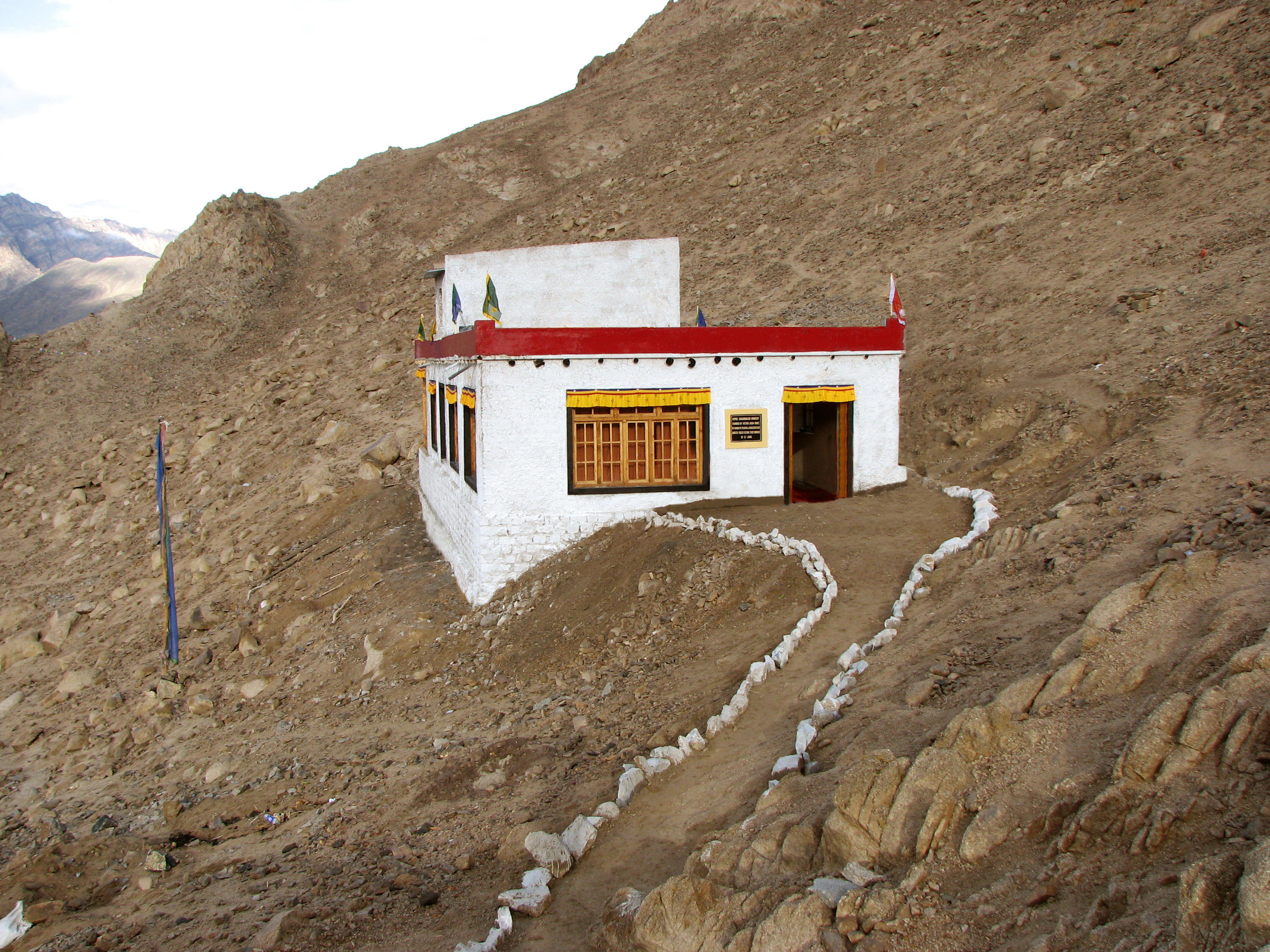 Saboo Ayu Nunnery, Ladakh - Funded by Fulcrum Students from Scotland and East London