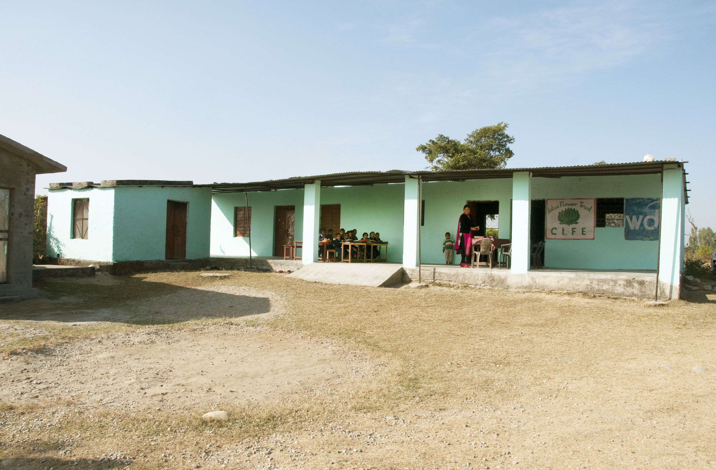 Kalu Siddhi Primary School, Uttrakhand - Funded by Duty Free News International Charity Ball