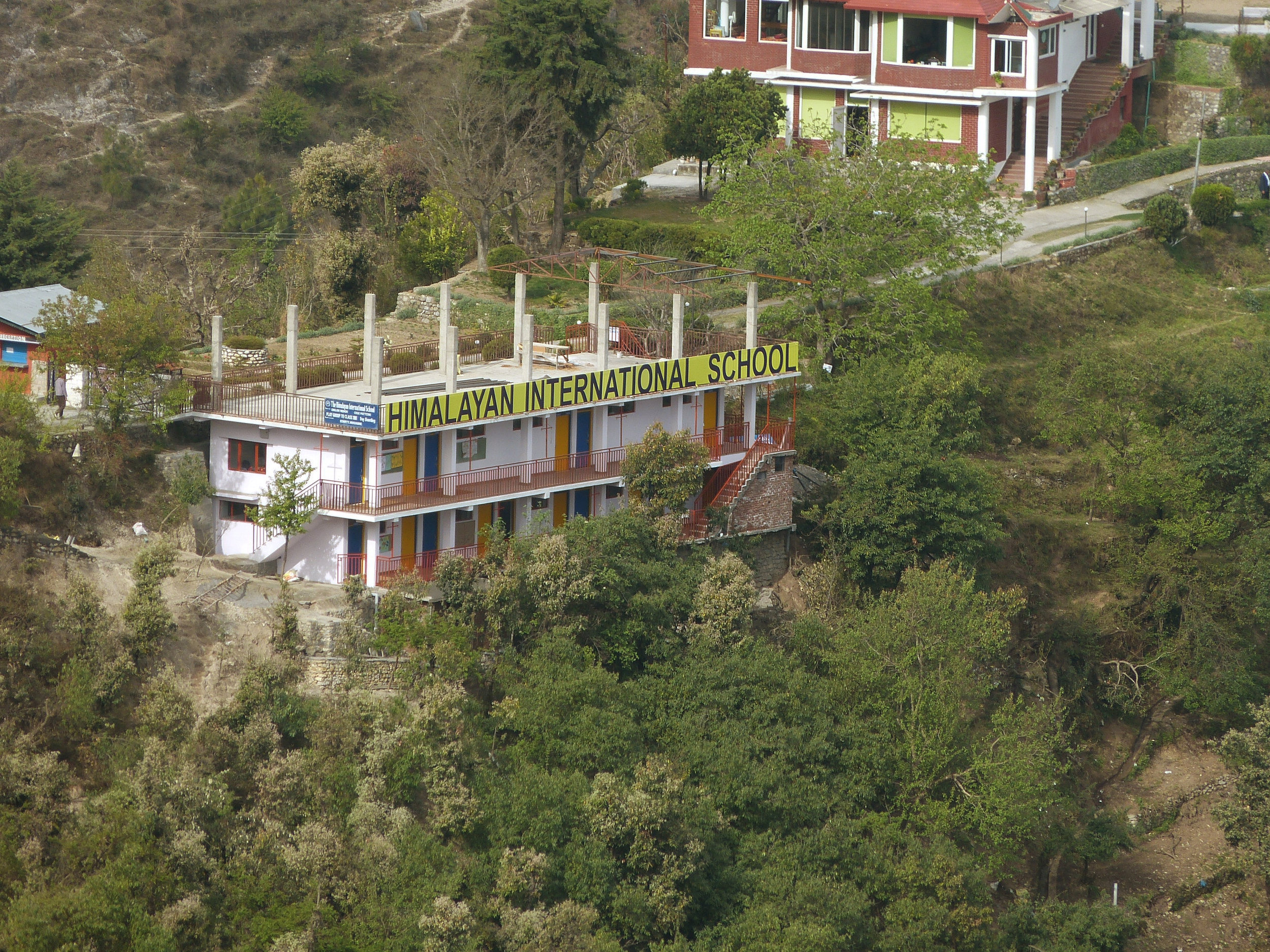 Himalayan International Primary and Middle School, Missorie, Uttrakhand - Funded by Winchester College
