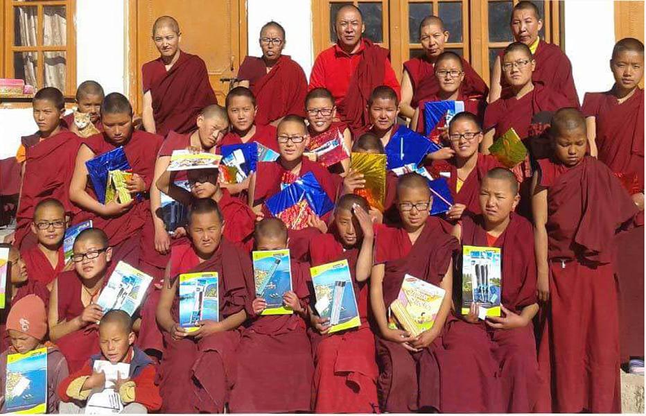 SAKYA NUNNERY, CHOGLAMPSA TIBETAN REFUGEE CENTRE, LADAKH - Funded by a private sponsor