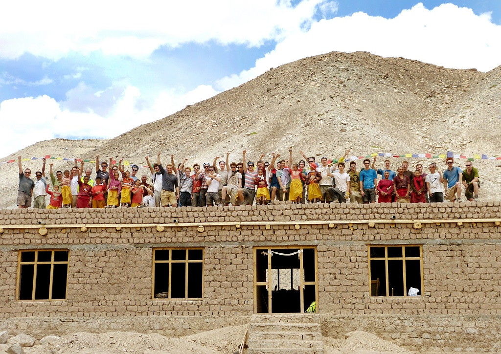 Winchester College Boys and Nuns Building Basgo Nunnery, Ladakh.jpg