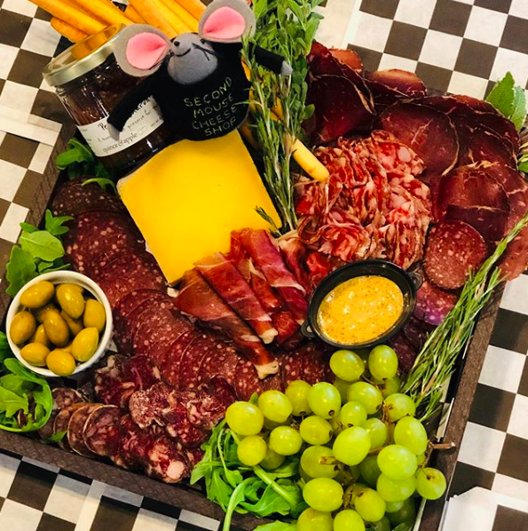 Cheese & Charcuterie Platters  are available for larger events. Please give us 24 hours notice so we can make your platter perfect