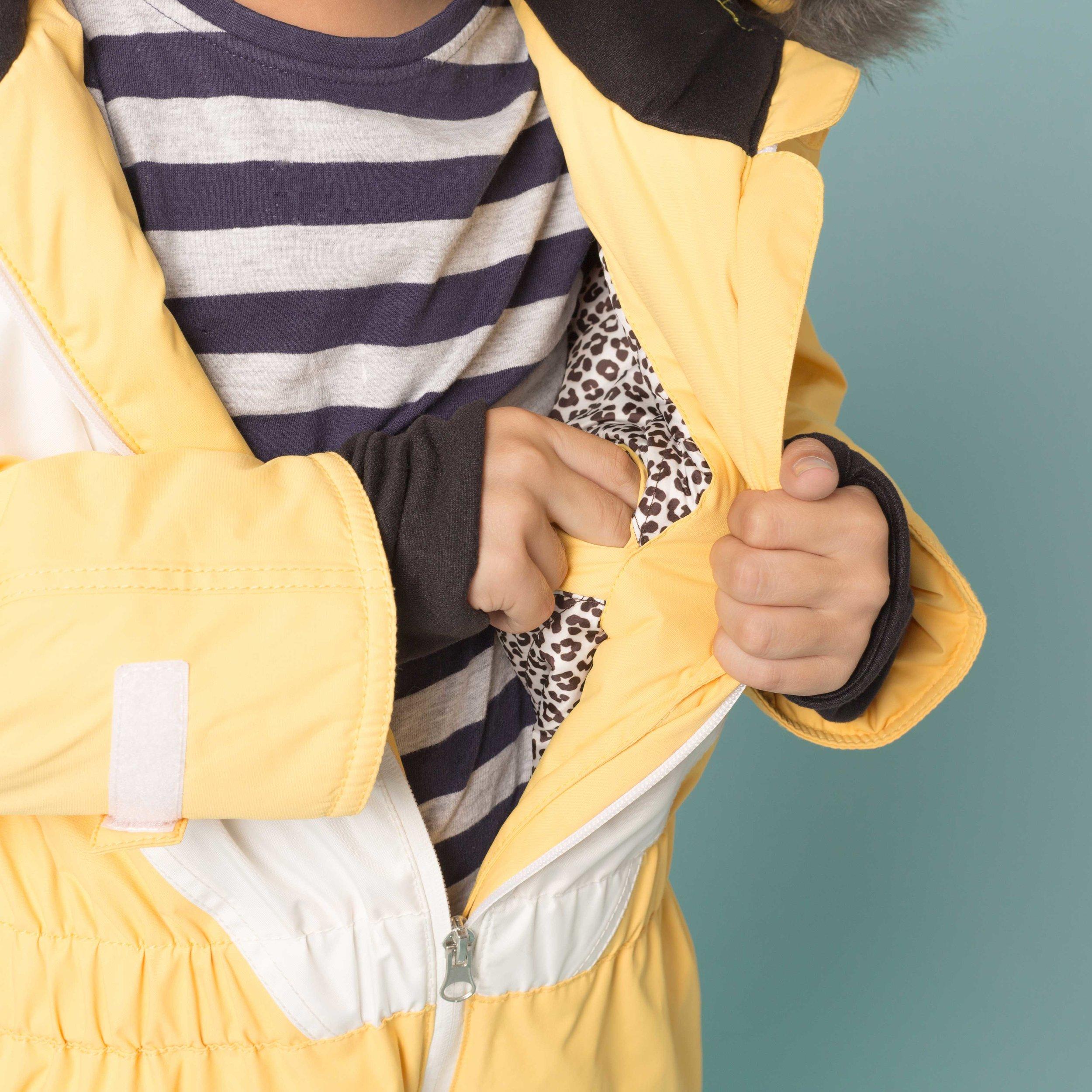 Ski Suit Pockets