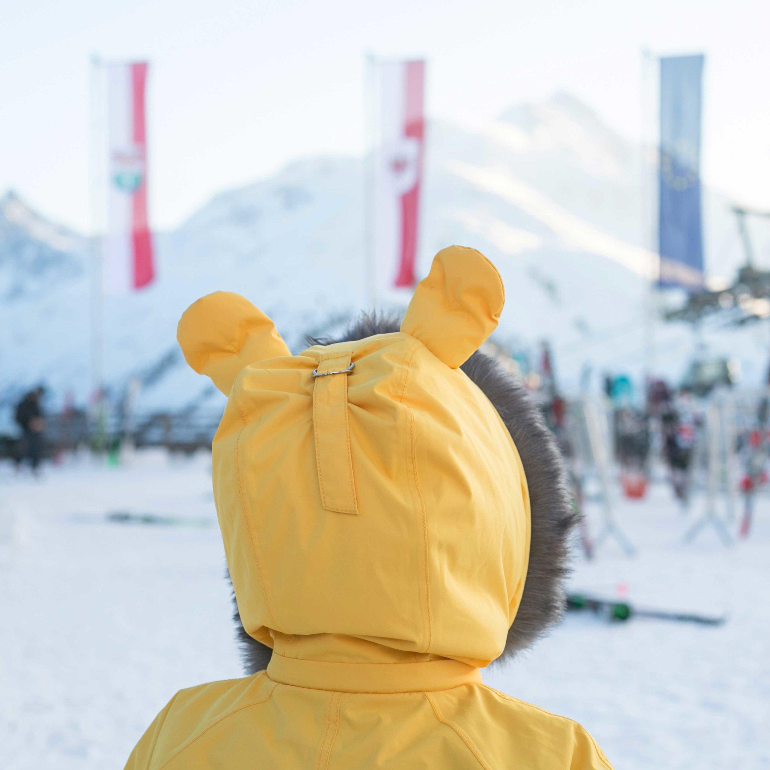 Ski Suit Hood