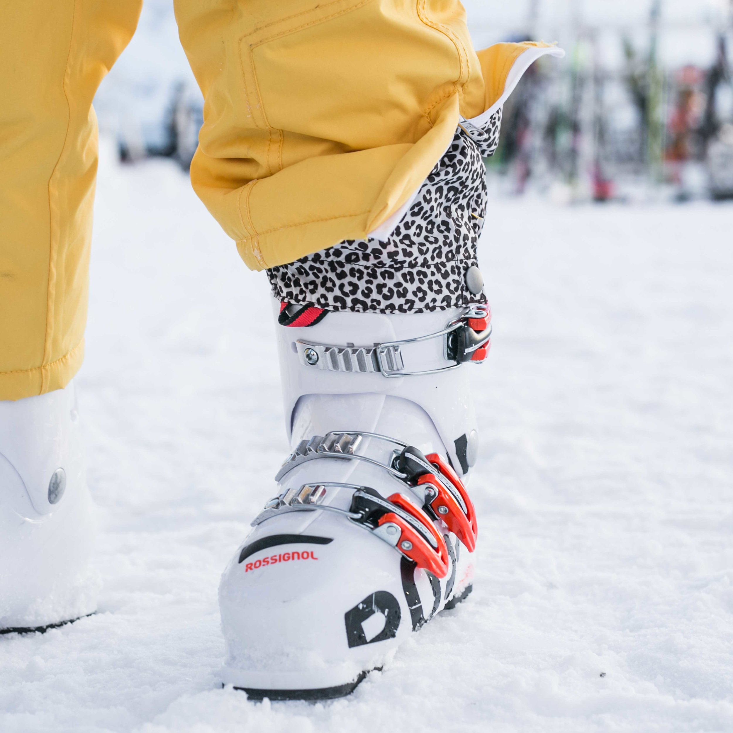 Ski Suit Elasticated Boot Covers