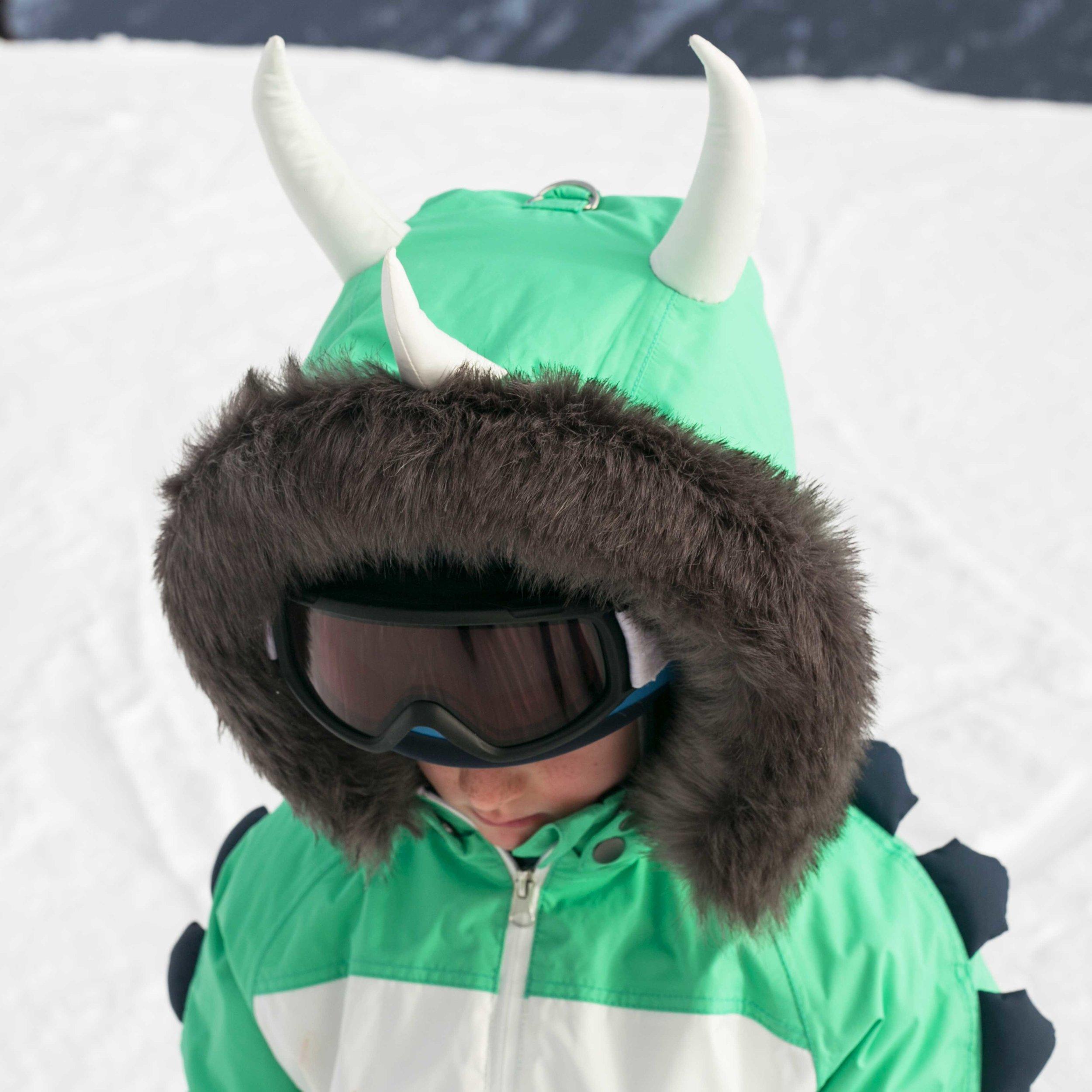 Kids Ski Suit Hood