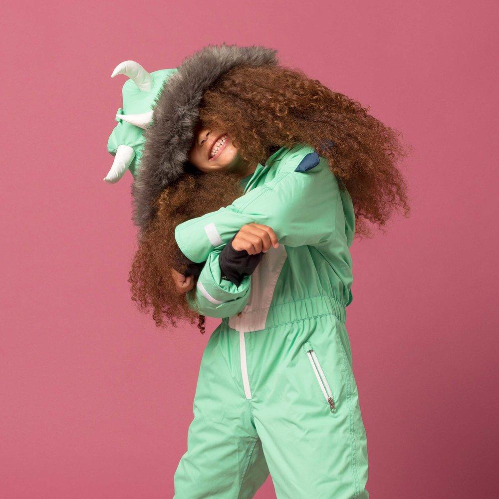 Dinosaur Kids Ski Suit