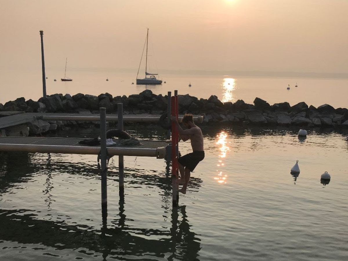 We also recommend an 8 am dip in Lake Geneva. It awakens the soul!