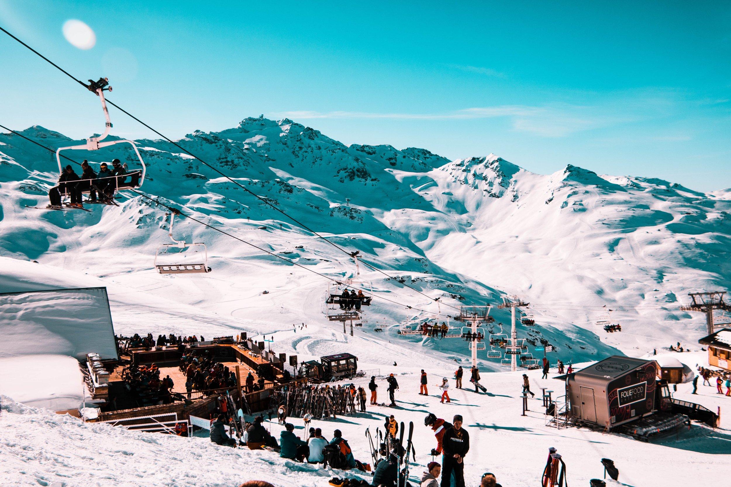 Apres ski life at it's finest.