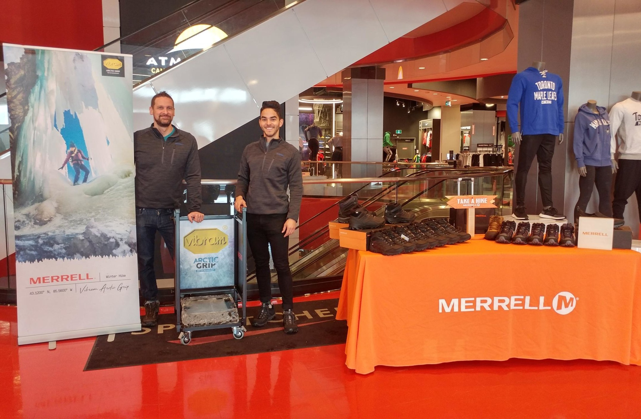 Merrell - Product demo and in-store activationsLearn more