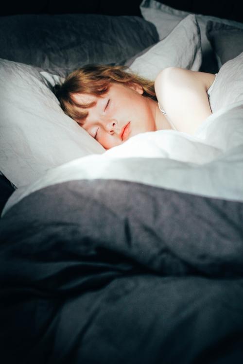 sleeping in ?