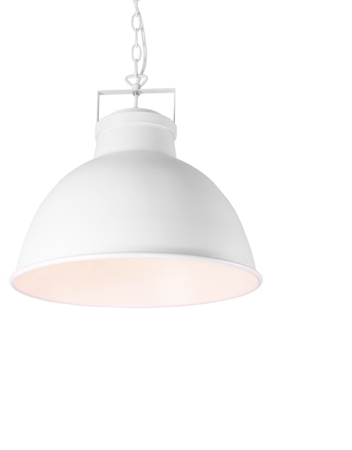 Timeless and beautiful in white - Blaire pendant lamp - picture courtesy of bhs